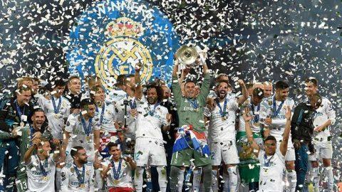 CHÙM ẢNH: Real Madrid rực rỡ trong ngày đăng quang, Liverpool nước mắt sầu bi ai