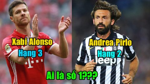 10 siêu nhân nhắm mắt cũng chuyền bóng chuẩn đến từng Centimet: Pirlo, Alonso vẫn phải chào thua cái tên này!