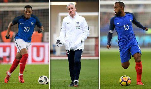 Bị cả nước Pháp lên án vì danh sách dự World Cup, Didier Deschamps nói một câu khiến tất cả phải câm nín