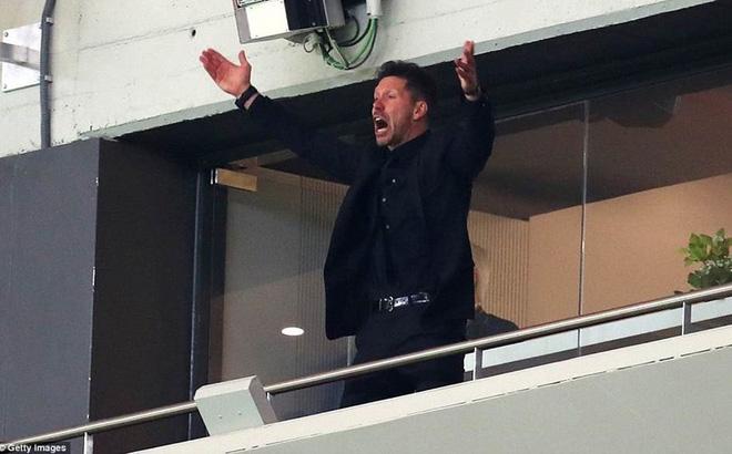 HLV Diego Simeone bị cấm chỉ đạo trong trận chung kết Europa League
