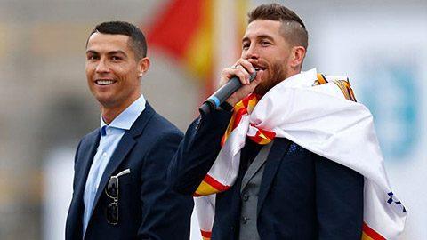 Hàng triệu NHM Atletico 'nóng mặt' với phát biểu 'khiêu khích' của Ramos trong ngày ăn mừng chức vô địch
