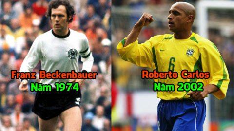 """Điểm mặt 8 siêu sao từng lập """"cú đúp"""" Champions League – World Cup trong một năm: Sau Carlos sẽ là ai?"""