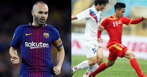 Từ chối nhiều đại gia, Iniesta bất ngờ chọn đội bóng châu Á từng đối đầu Việt Nam