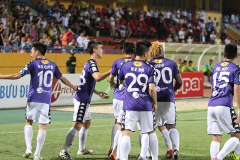 Quang Hải tái hiện phong độ siêu phàm ở U23 Việt Nam, Hà Nội và Thanh Hóa khép lại trận đấu với kết quả không tưởng
