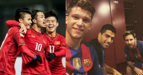 Lộ diện danh sách dàn sao Barca sẽ đối đầu với U23 Việt Nam tại SVĐ Mỹ Đình: Có cả cái tên từng được đôn lên đội 1