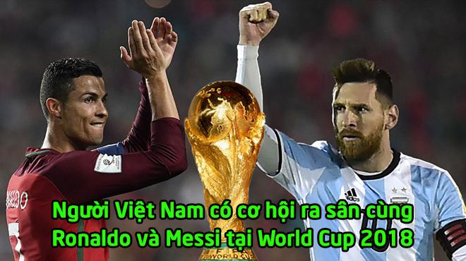 """Đây! Cái tên duy nhất của Việt Nam có cơ hội """"được ra sân"""" cùng Ronaldo và Messi tại World Cup khiến cả đất nước tự hào!"""