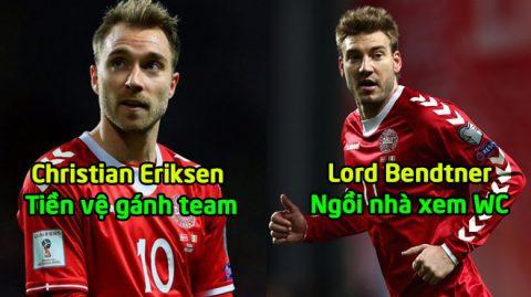 Đan Mạch CHÍNH THỨC công bố danh sách dự World Cup 2018:  Eriksen gánh Team, Lord Bendtner phải ngồi nhà!
