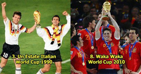 Top 10 bài hát World Cup hay nhất mọi thời đại, số 3 đình đám đến mức không một ai là không biết