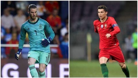 5 điểm nhấn Bồ Đào Nha 3-3 Tây Ban Nha: Vua gánh team Cr7 và 'chú mèo' De Gea