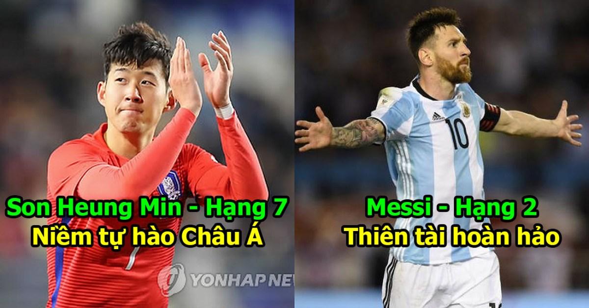 10 thánh gánh cả đất nước vĩ đại nhất World Cup 2018: Còng lưng đưa Argentina đến Nga, Messi vẫn chưa phải số 1