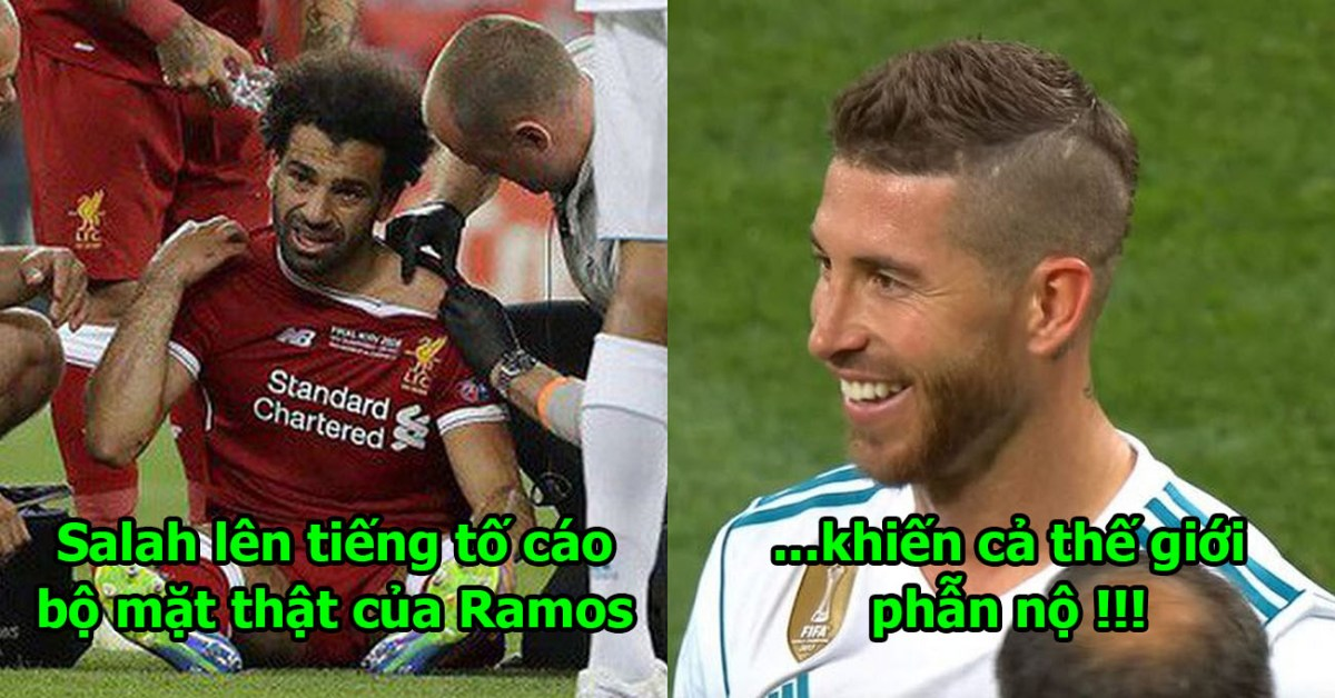 """SỐC: Tận nửa tháng sau cú """"triệt hạ"""" tàn nhẫn, Salah mới lên tiếng tố cáo bộ mặt dối trá của Ramos khiến cả TG phẫn nộ"""