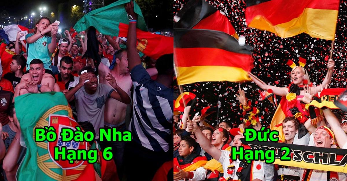 Báo Mỹ công bố 10 quốc gia yêu bóng đá nhất World Cup 2018: 2 đại diện Châu Á sánh vai cường quốc 5 châu