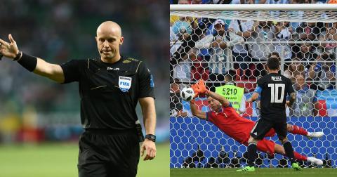 """Còi vàng Dương Mạnh Hùng: """"Trọng tài bắt trận Argentina – Iceland cần có thời gian xem lại chuyên môn của mình"""""""