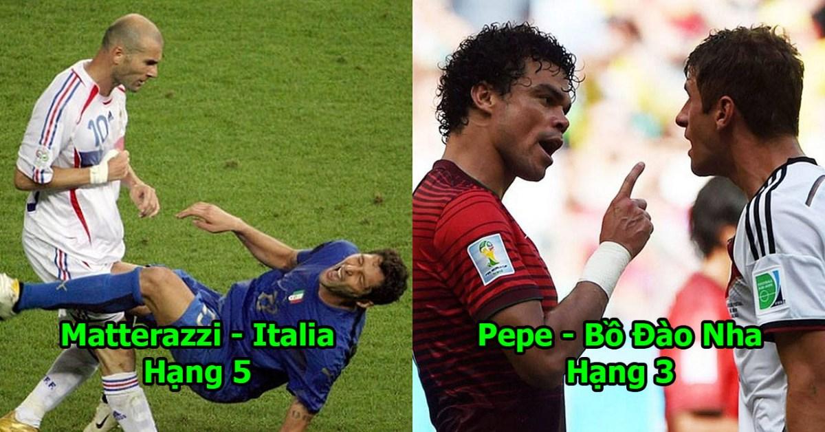 5 gã cầu thủ chơi bẩn nhất lịch sử World Cup: Vị trí số 1 đáng sợ đến mức bị chính CĐV đội nhà khinh bỉ