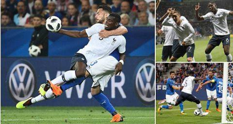 Kết quả Pháp vs Italia: Sức mạnh khủng khiếp, thị uy ấn tượng