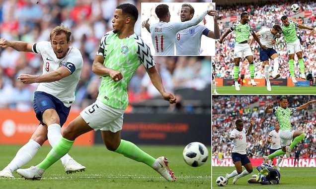 """Kết quả Anh – Nigeria: Hiệp 1 """"hổ báo"""", hiệp 2 sống trong run rẩy"""