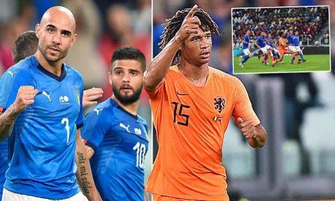 Kết quả Italia – Hà Lan: Căng thẳng tột độ, thẻ đỏ, trừng phạt không khoan nhượng