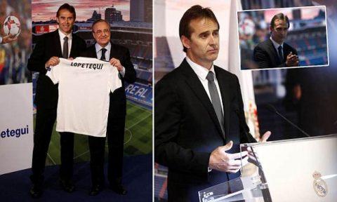 """Bất chấp Tây Ban Nha đang đại loạn, Real Madrid và """"kẻ phản bội"""" Julen Lopetegui vẫn rạng rỡ ra mắt"""