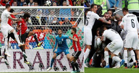 Kết quả Ai Cập – Uruguay: Cửa trên bạc nhược, vỡ òa phút 89