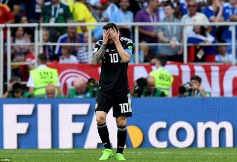 Tiếp tục đá hỏng 11m khiến Argentina mất điểm trực tiếp, Messi đã nói gì?