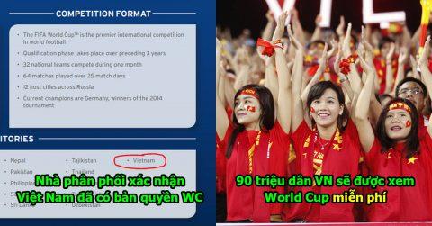 CỰC NÓNG: VTV đàm phán xong xuôi, 90 triệu dân Việt Nam chắc chắn sẽ được xem World Cup miễn phí Hè này