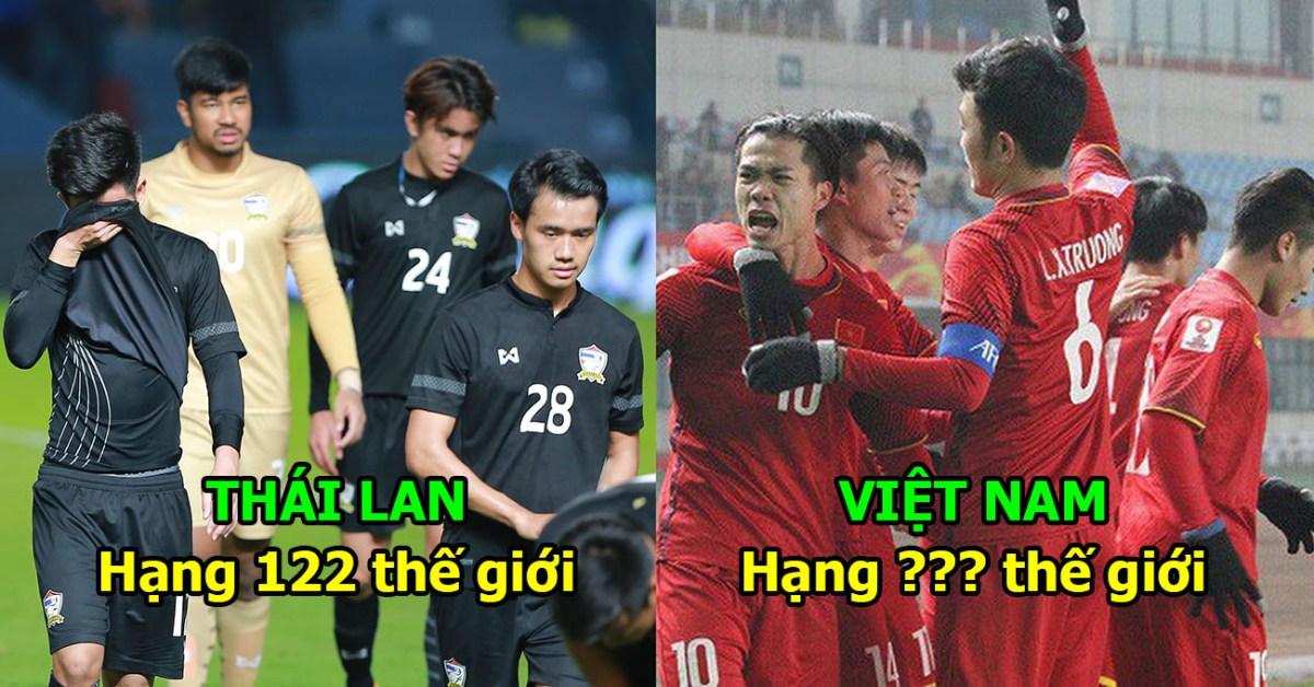 BXH FIFA tháng 6/2018: Cắt đuôi cả Đông Nam Á, Việt Nam sắp vươn lên đỉnh cao mới khiến cả TG nể phục