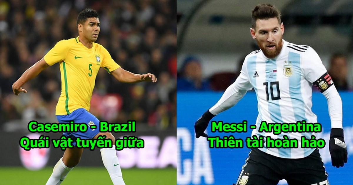 Đội hình 11 chiến binh hủy diệt của Nam Mỹ nếu kết hợp với nhau thừa sức thống trị World Cup 2018