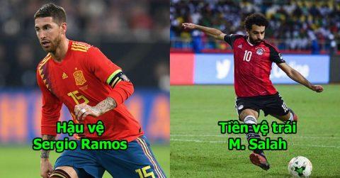 Đội hình 11 siêu sao được yêu mến nhất World Cup 2018: Không thể tìm được hàng tiền đạo nào mạnh hơn bộ 3 này