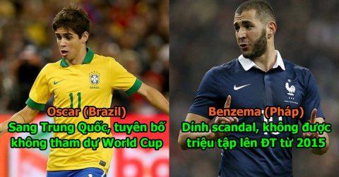 Xót xa nhìn lại số phận đau xót hiện tại của 11 cầu thủ xuất sắc nhất World Cup 2014, tiếc nhất người cuối cùng