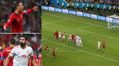 Kết quả Bồ Đào Nha vs Tây Ban Nha: Hat-trick siêu đẳng, kinh điển 6 bàn nghẹt thở
