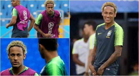 Muốn ghi điểm trước trận mở màn tại World Cup 2018, Neymar trình làng kiểu tóc 'mỳ tôm' cực độc khiến Fans thích thú