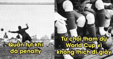 Những sự thật cực thú vị ít người biết về World Cup: Cạn lời với pha số 4