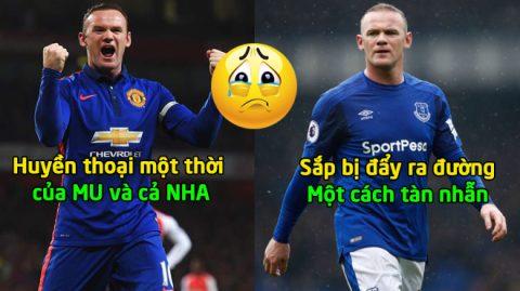 """1 năm sau ngày trở lại mái nhà xưa Everton, ít ai biết được """"huyền thoại"""" của NHA Wayne Rooney sắp bị đẩy ra đường một cách tàn nhẫn thế này đây!"""