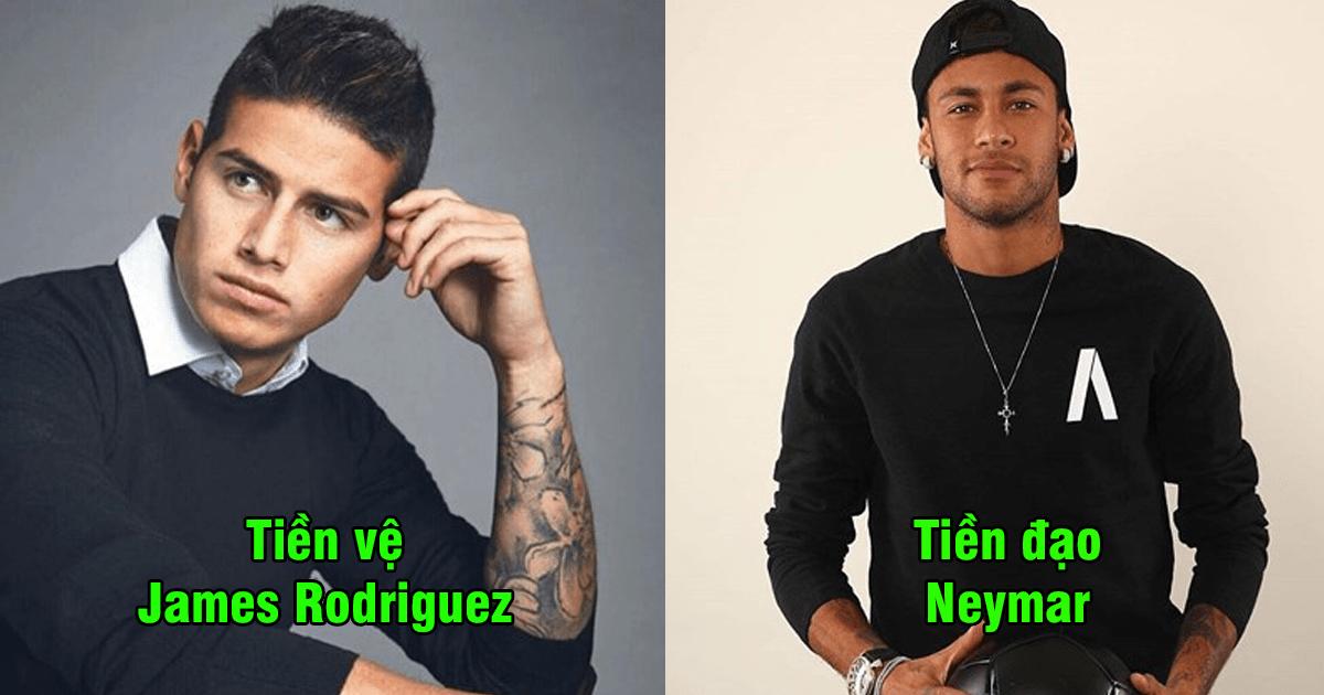 """Đội hình 11 siêu sao 9x đẹp trai nhất World Cup 2018: Hàng tiền vệ """"soái ca"""" gây sốt toàn thế giới"""