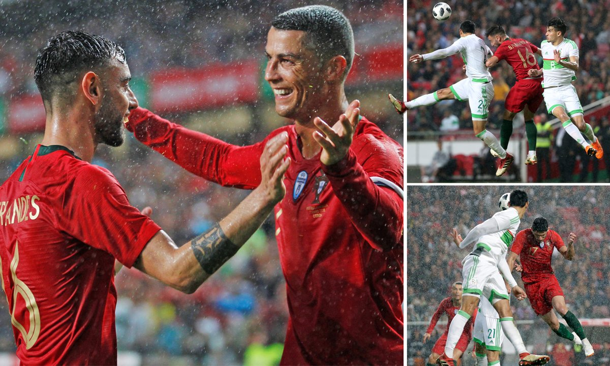 Kết quả Bồ Đào Nha vs Algeria: Ronaldo kiến tạo, đàn em bừng sáng cú đúp
