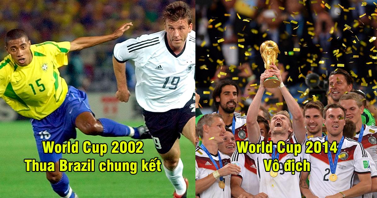 """Nhìn lại 10 kỳ World Cup gần nhất của ĐT Đức: Brazil, Tây Ban Nha xách dép """"cỗ xe tăng"""" về độ ổn định"""