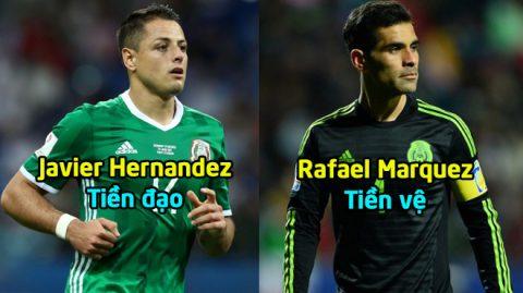 Mexico CHỐT danh sách 23 cầu thủ tham dự World Cup 2018: Kỷ lục mới cho đội trưởng Marquez?