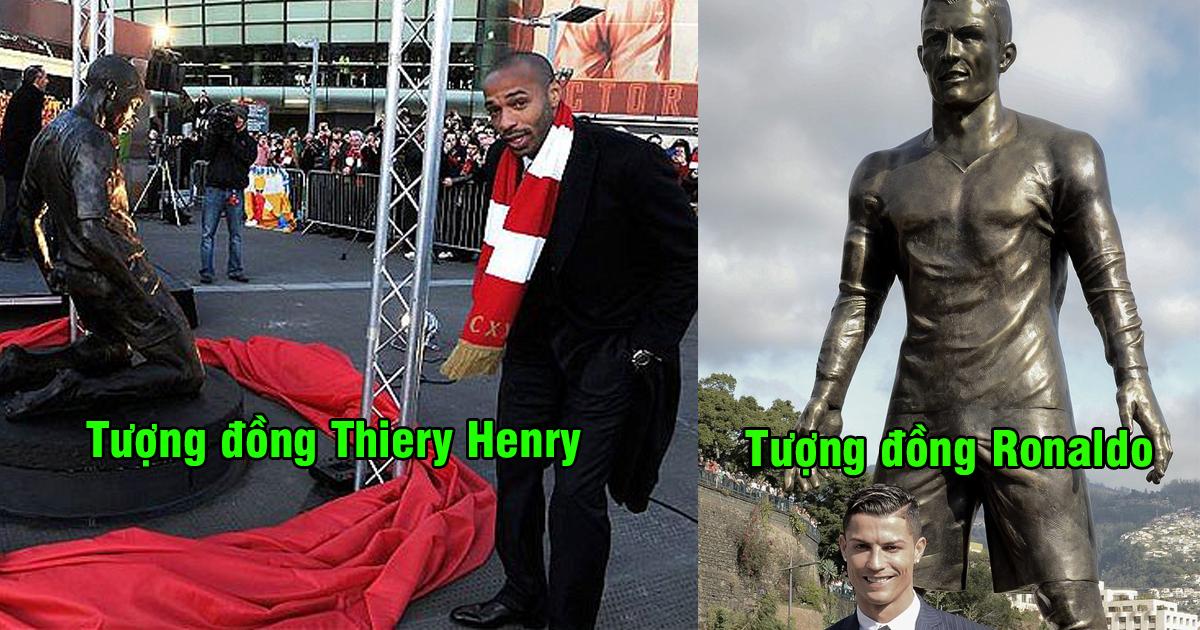 Top 6 siêu sao bóng đá được đúc tượng đồng vinh danh: Số 1 quá nổi tiếng không ai sánh bằng