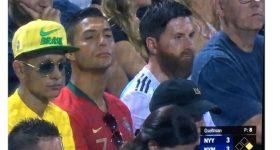 Không nhịn nổi cười với Messi, Ronaldo, Neymar 'phiên bản lỗi' xuất hiện cùng nhau