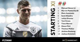 Đội hình CHÍNH THỨC Đức vs Mexico: Tiếc cho Marco Reus