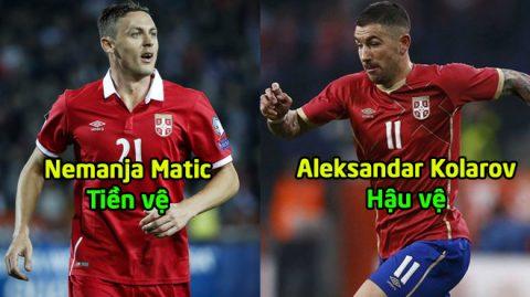 Serbia CHÍNH THỨC chốt danh sách 23 cầu thủ tham dự World Cup 2018: Siêu sao MU cân cả tuyến giữa