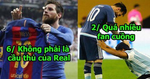 7 lý do không thể chối cãi chứng minh Messi là cầu thủ ĐÁNG GHÉT nhất thế giới: Kéo xuống cuối, tất cả cạn lời