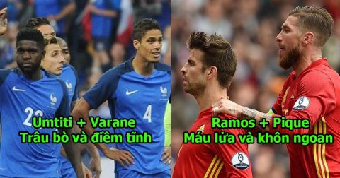 Những cặp trung vệ khó xơi nhất World Cup 2018: Ramos + Pique cũng phải hít khói cho 2 siêu nhân số 1