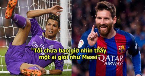 """Tân HLV Real: """"Không phải Ronaldo, Messi mới là cầu thủ xuất sắc nhất thế giới!"""""""