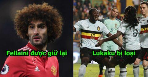 SỐC: ĐT Bỉ chốt hạ danh sách 23 siêu nhân chinh phục World Cup, tất cả bàng hoàng vì Lukaku bị loại!