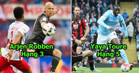 Những cầu thủ có kỹ năng solo ghi bàn đáng sợ nhất thế giới trong 20 năm qua: Vị trí số 1 không thể khác được