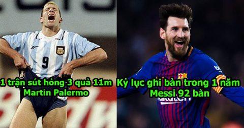 12 kỷ lục ĐIÊN RỒ trong bóng đá mà bạn không thể tin chúng tồn tại: Kỳ tích của Messi là bất khả xâm phạm