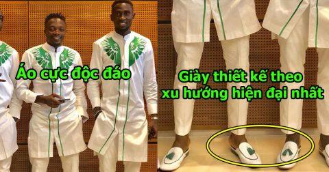 Sở hữu áo đấu đẹp nhất WC, đến khi nhìn vào trang phục sân bay của Nigeria, ai cũng tan chảy vì quá chất