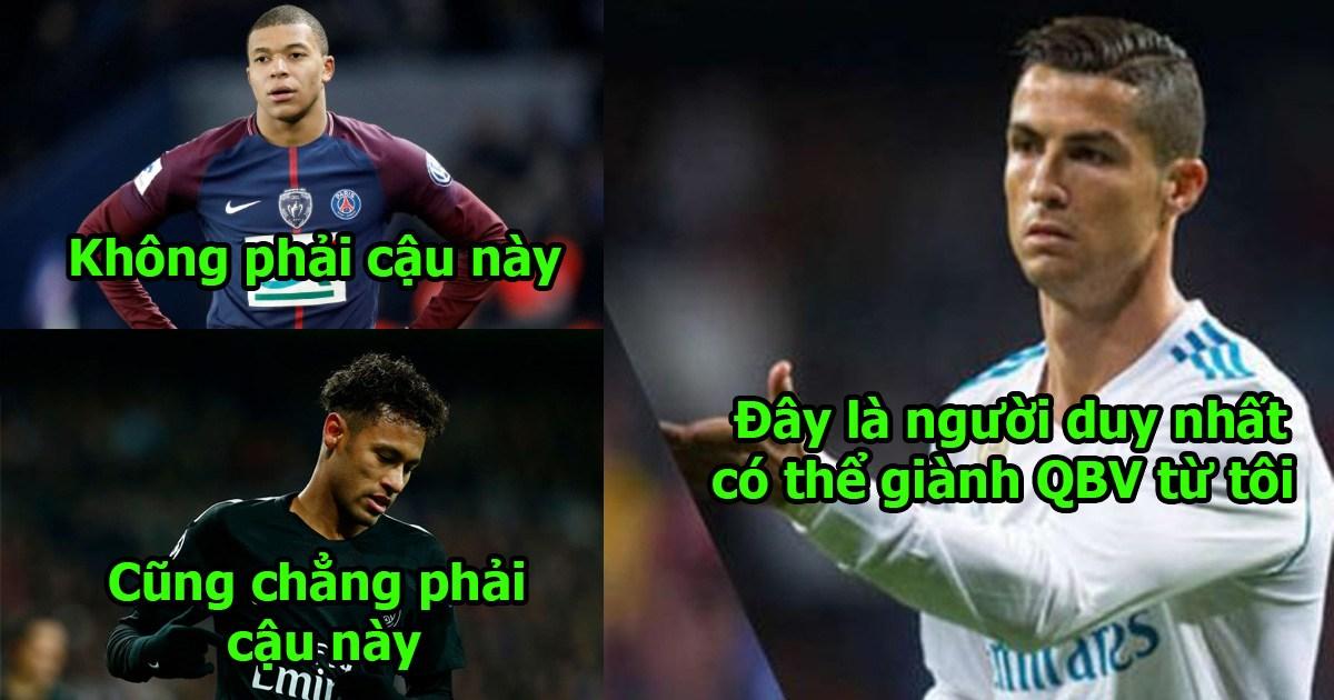 Gạt Mbappe, Neymar, Hazard ra rìa, Ronaldo chỉ đích danh người này có thể hạ bệ anh giành QBV