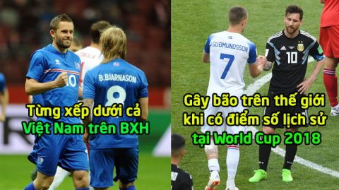 """Từng """"hít khói"""" Việt Nam trên BXH FIFA, Iceland đã và đang làm mưa làm gió trước các đại gia khiến cả TG phải ngưỡng mộ thế này đây!"""